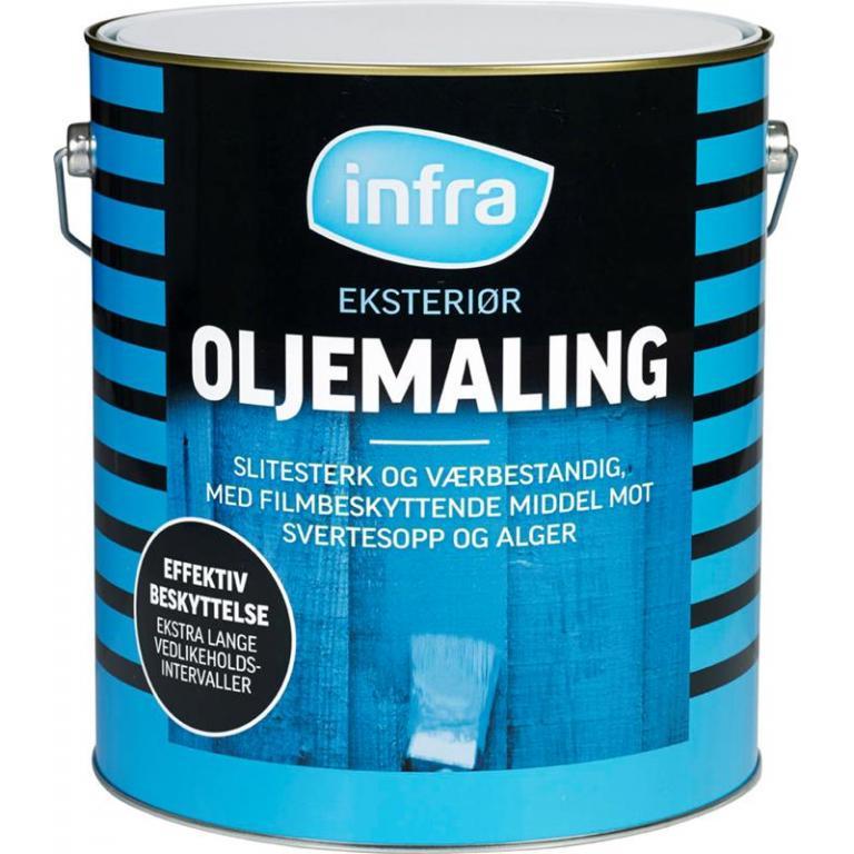 INFRA SILIKON-OLJEMALING 10L OKER-BASE